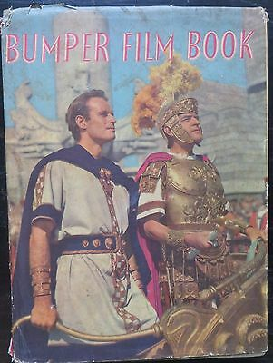 BUMPER FILM BOOK 32 FULL COLOR PORTRAITS of Hollywood stars illustrated English