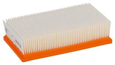 Bosch 2607432034 Polyester Flat-Pleated Filter for Gas 35-55, Orange, White