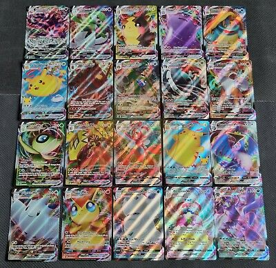 Pokemon Cards 60 bulk lot Guaranteed FULL ART GX/EX + 9 rare/shiny