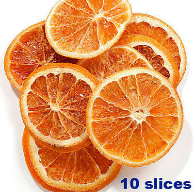 Dried orange slices 10 itm 4-5cm scented Christmas decoration wreath DIY Free PP