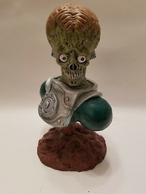 MARS ATTACKS Limited #3 of 10 CUSTOM ALIEN Head Bust Statue Figure 1962 Topps