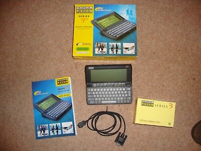 Rare PSION 3mx PDA  very good condition boxed with accessories