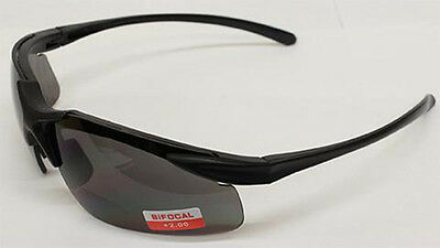 Shatterproof Lens Bi Focal Rider Motorcycle Biker Cycle sunglasses + free Pouch