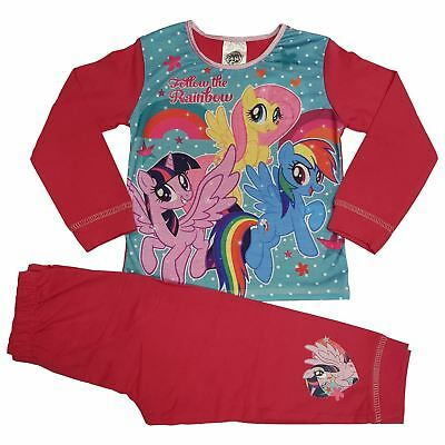 Just Character NEW Girls Toddler My Little Pony Pyjamas 18 months 2 3 4 5 Years