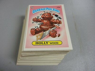 1986 Garbage Pail Kids GPK USA Series 4 Complete Set  84 cards Pack Fresh Mint!