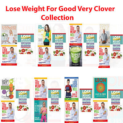 Lose weight for good very clever gut plan diet for beginners 4 Books set NEWPack