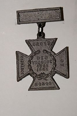 Southern Cross Of Honor Confederate Medal Daughters Of Confederacy Civil War Csa