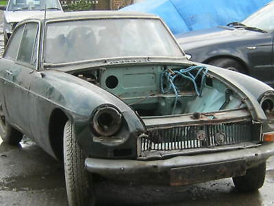 classic car engine MGBGT gold seal (runner) plus other stuff