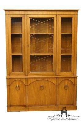 "CENTURY FURNITURE Italian Provincial 54"" Breakfront China Cabinet 9631/498"