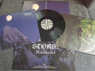 Storm-Nordavind LP,1st.Press,Black Metal,Darkthrone,Satyricon,Emperor,Wongraven