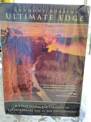 NEW Anthony Robbins Ultimate Edge 3-Part System Box Set