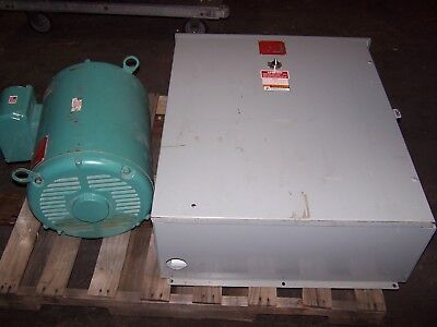 Arco Roto-Phase 75 Hp 1 To 3 Phase Rotary Phase Converter 230 Vac Model Chdelv20