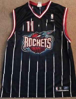 cc33944c5 Houston Rockets Yao Ming Reebok Jersey  11 Men s Size XL NBA VINTAGE RARE