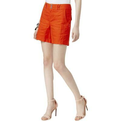 INC Womens Linen Regular Fit Everyday Casual Shorts BHFO 8142