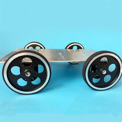 C600 LED 4WD Smart Robot Car Chassis Kit Remote Control by WiFi -Silver