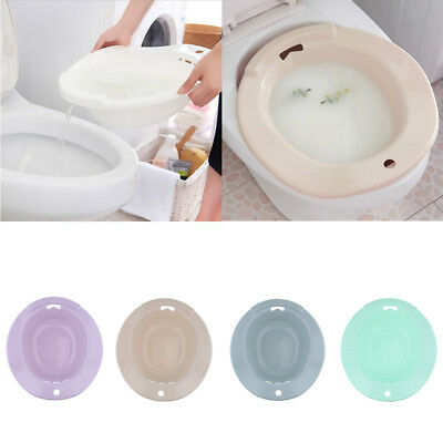 Hemorrhoids Patient Men Postpartum Toilet Sitz Bath Tub Hip Basin Bidet Bowl