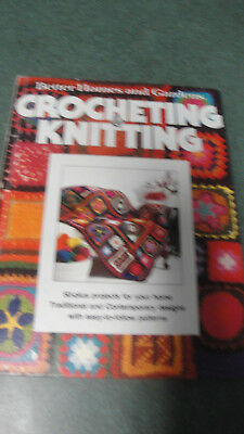 Vintage Crocheting & Knitting projects instructions Better Homes & Gardens book