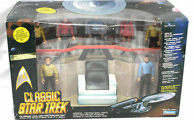 Classic Star Trek Collector Figure Set, 6 Figures Included By Playmate, 6090.