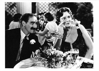 GROUCHO MARX Classic photo with Margaret Dumont  4¼ x 6 in.
