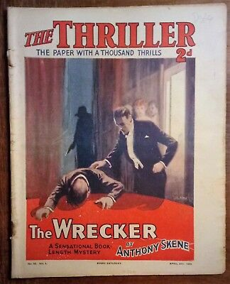 The Thriller no. 12, 27th Apr 1929 Anthony Skene
