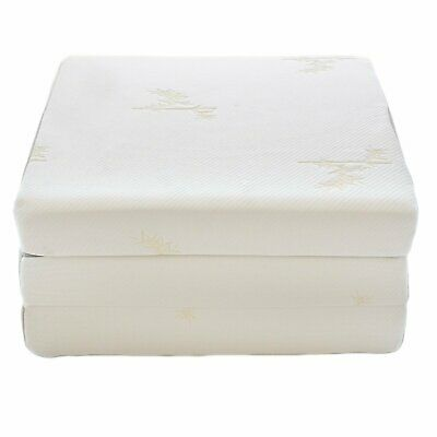 Homelife 4 Tri Fold Mattress W Ultra Soft Removable Cover