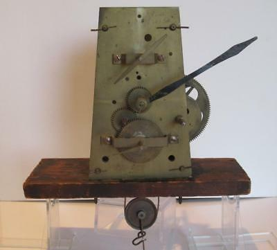 Antique Georgian c1800 Triple Dial Precision Regulator Longcase Clock Movement