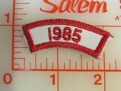3 - 1986 & 1 1985 number segment patches (rL)