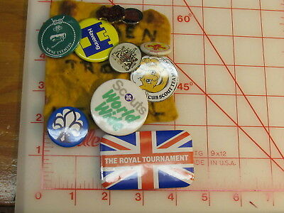 Overseas Scouting group of pins (rL)