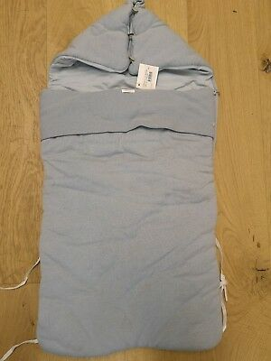 Genuine baby DIOR Sleeping Bag Cozy Toes Bnwt cashmere mix