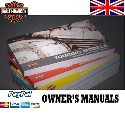 Owner'S Manual Harley Davidson English Hd Touring Dyna Sportster Softail Fat Boy
