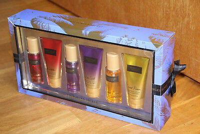 VICTORIA'S SECRET Fantasie GESCHENK Set *Parfum / Body Spray &Lotion* 6x75ml NEU