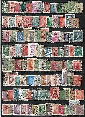 Worldwide: personalities; military, Lot 100 different stamps, used. WO78