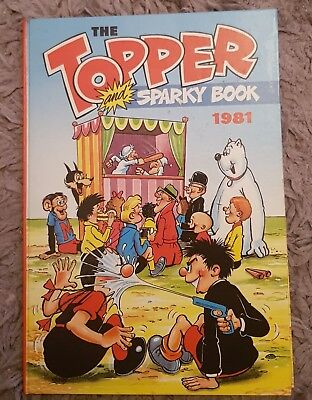 The Topper and sparky Annual 1981