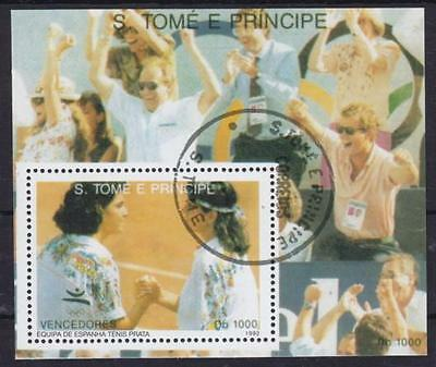 Tennis S. Tome Block 288, gest., 1992, used