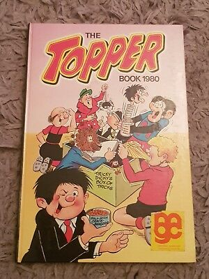 The Topper 1980 Vintage Annual Comic Hardback Book