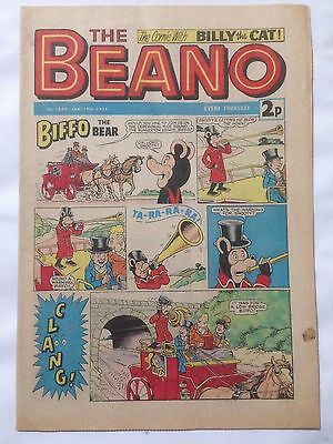 DC Thompson THE BEANO Comic. Issue 1644 January 19th 1974 **Free UK Postage**