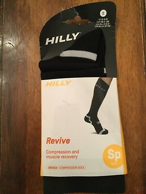 "Unisex Ron Hill ""Hilly"" Compression Running Socks- size Small - bnwt"