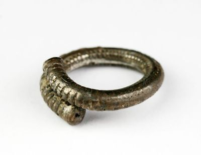 *sc*ancient Greek-Roman Silver Ring, Ca. 1St. Century Bc-3Rd. Century Ad!