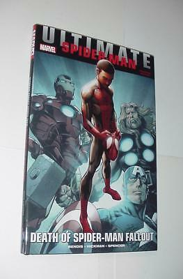 Ultimate Comics Spider-Man: Death of Spider-Man Fallout HC 1st print NM Variant