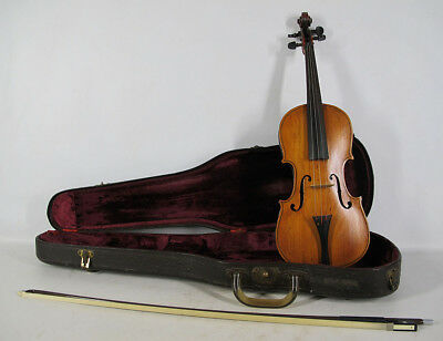 Antique/Vintage Antonius Stradiuarius Cremonensis 1735 Violin Germany Copy yqz
