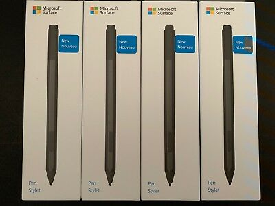 New Microsoft Surface Pen for Surface Pro 6, Surface Book Black EYU-00001