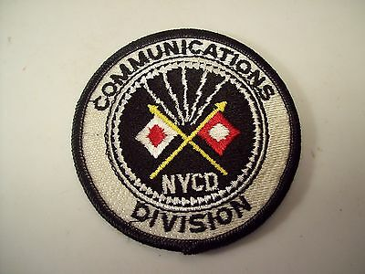 New York Communications Division Patch NYCD