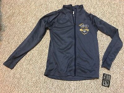 NHL Brand Buffalo Sabres  100% Polyester zip up long sleeve (SIZE M 8/10