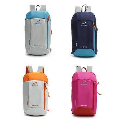 10L Hiking Camping Outdoor Travel Bag Lightweight Shoulder Backpack Cycling Pack