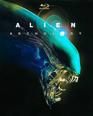 Alien Anthology  [Blu-ray] 6 Disc New, Free Shipping
