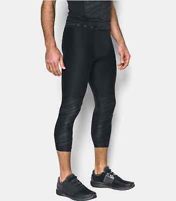 UNDER ARMOUR Men's Heat Gear Armour Football Printed 3/4 Leggings NWT Size LARGE
