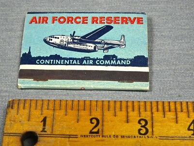 Vintage 1950s Air Force Command 313th Squadron Matchbook
