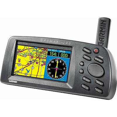 Garmin Aviation Gps 295 Color  Gpsmap Pilot Avionics - 296 396 196 96C 96