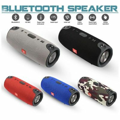 40W Wireless Bluetooth Speaker Waterproof Outdoor Stereo Bass USB FM Radio Audio