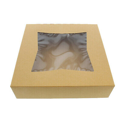 """SpecialT   Pie Boxes with Window 10"""" Inch Bakery Boxes Pie Containers"""